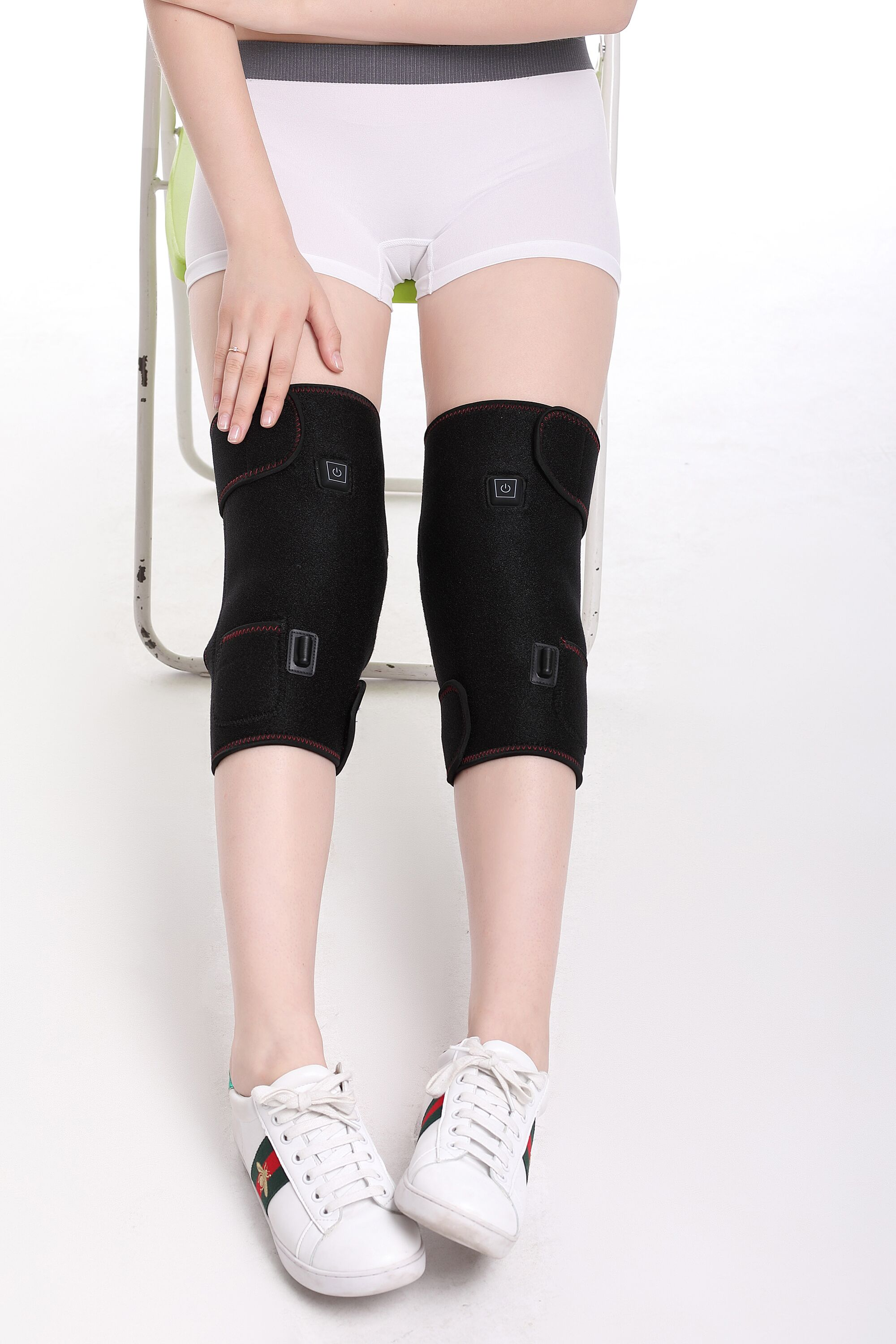 SM-H007A Softshell Thepray Electric Heated Knee Wrap