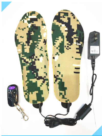 SM-KT01 Rechargeable Built-in Li-battery Powered Remote Heated Insole