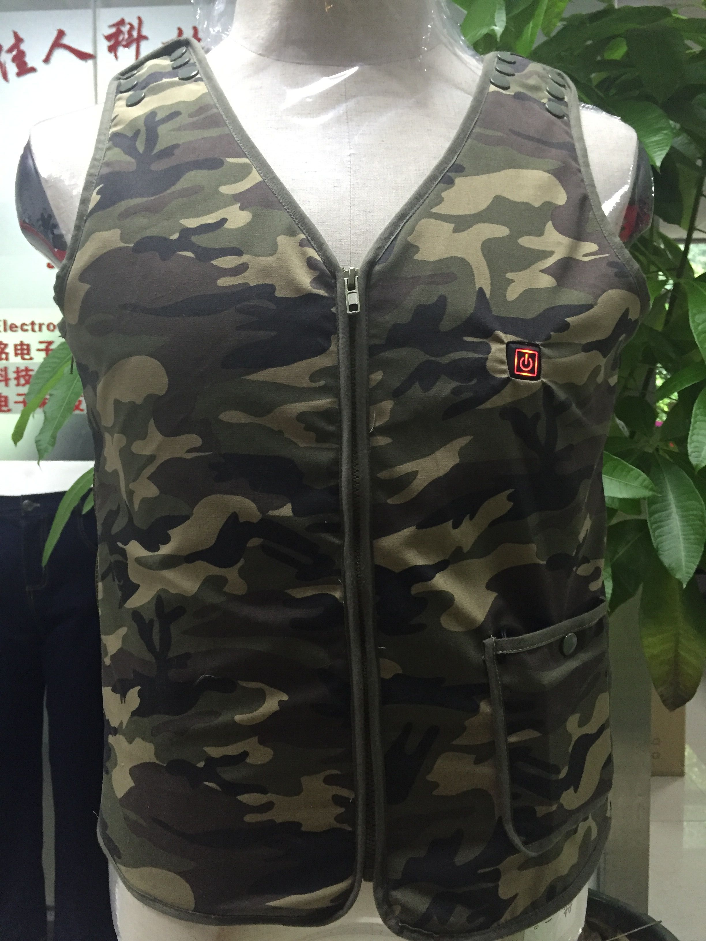 SM-H013Rechargable Power Heating Men's Hunting Camouflage Suits